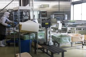 工場内のクリーンルーム
